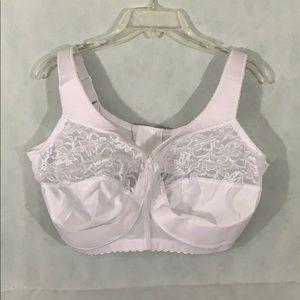 NWOT 42G Glamorise bra white